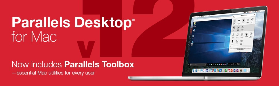 Parallels desktop 12 for Mac, now includes parallels toolbox. Essential Mac utilities for every user