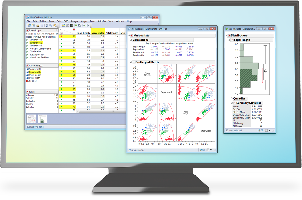 Data analysis software for Mac and Windows